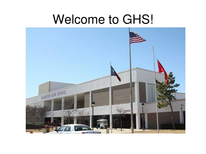 Welcome to GHS!