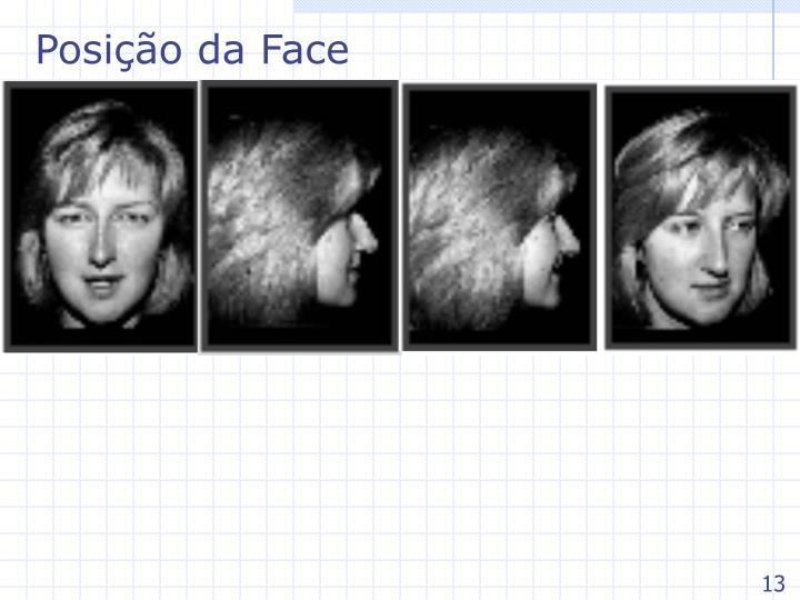 Posição da Face