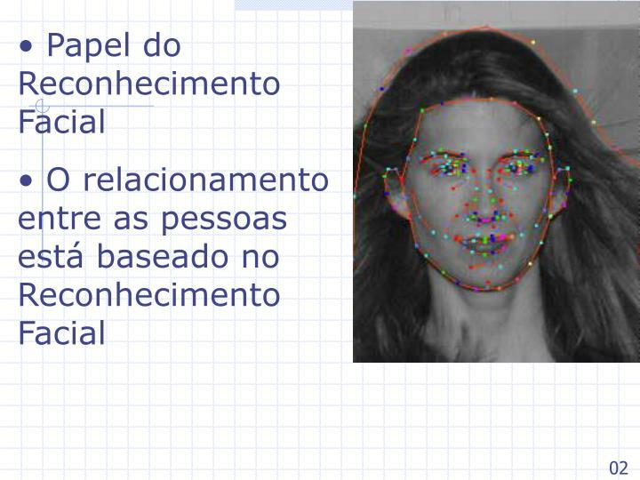 Papel do Reconhecimento Facial