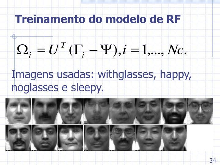 Treinamento do modelo de RF