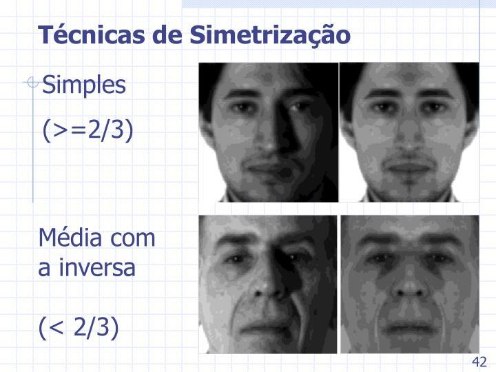Técnicas de Simetrização