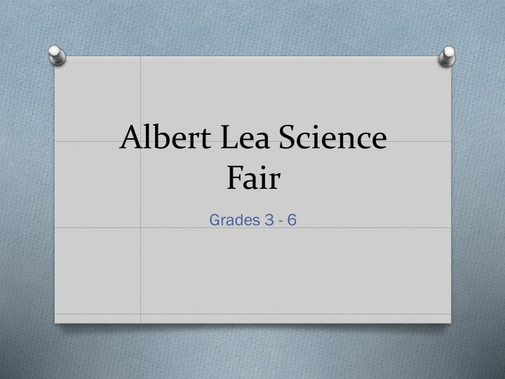 Albert Lea Science Fair