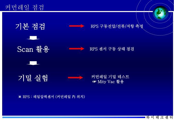 커먼레일 점검