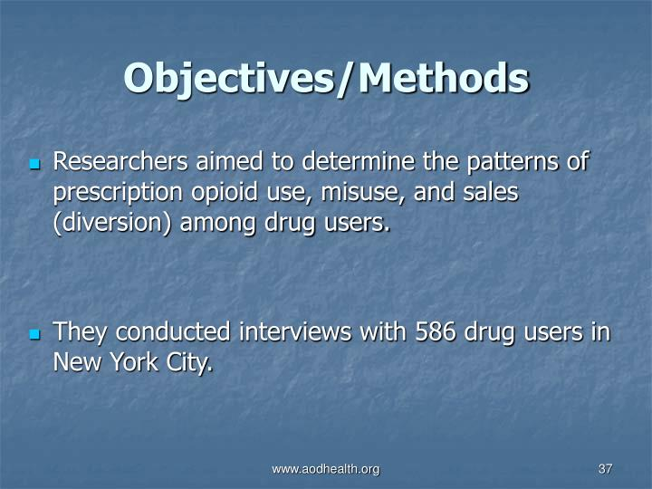 Objectives/Methods