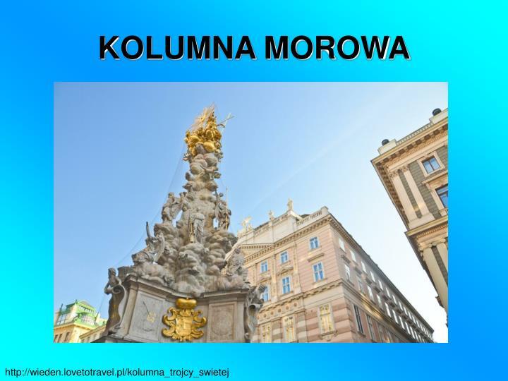 KOLUMNA MOROWA