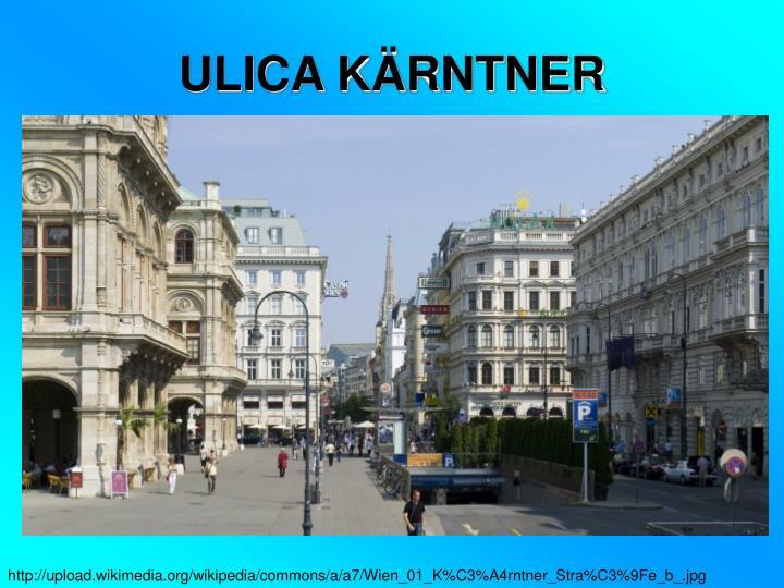 ULICA KÄRNTNER