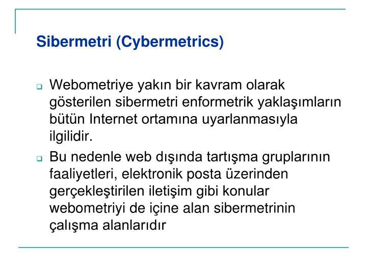 Sibermetri (Cybermetrics)