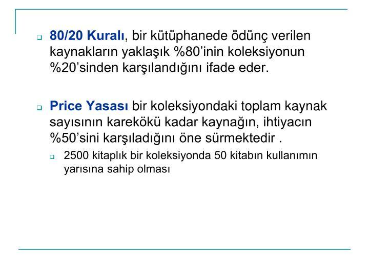 80/20 Kural