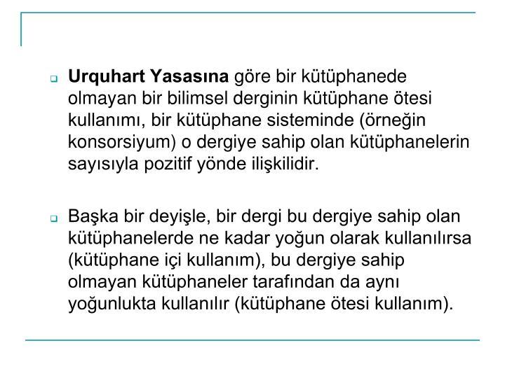 Urquhart Yasasna