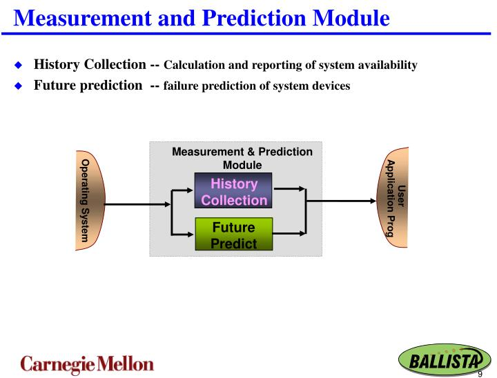 Measurement and Prediction Module