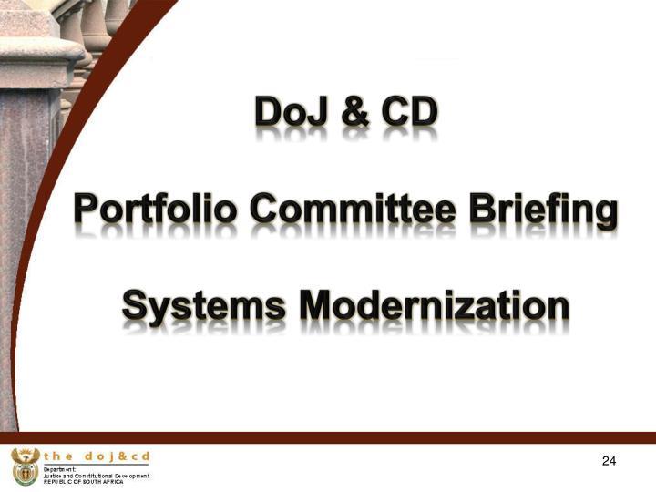 DoJ & CD
