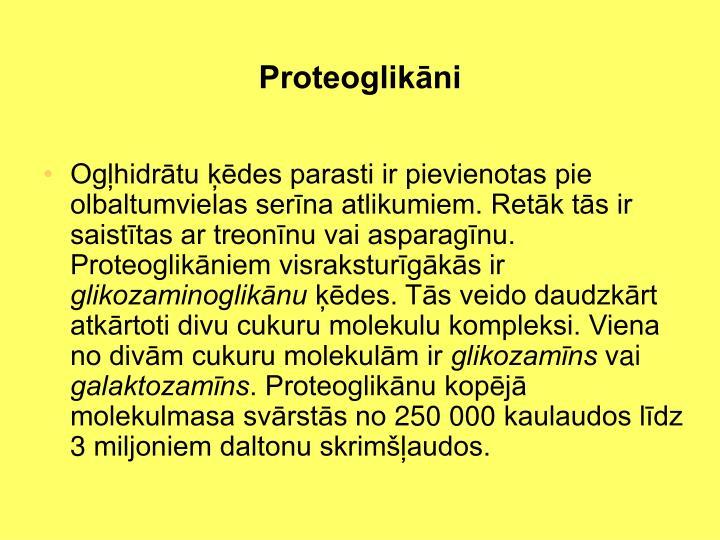 Proteoglikāni