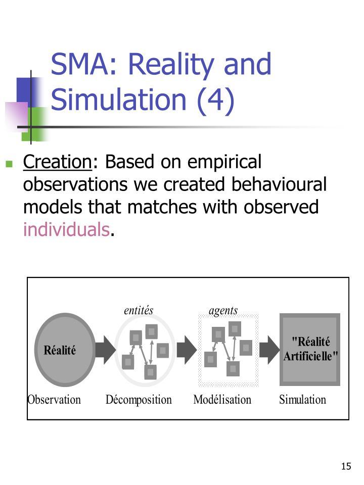 SMA: Reality and Simulation (4)