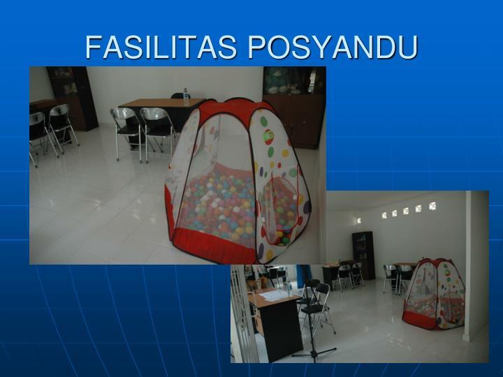 FASILITAS POSYANDU