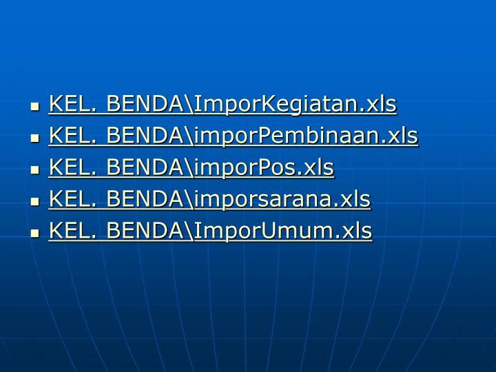 KEL. BENDA\ImporKegiatan.xls
