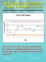 red top cab company c chart example continued