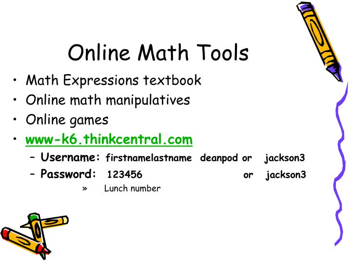 Online Math Tools