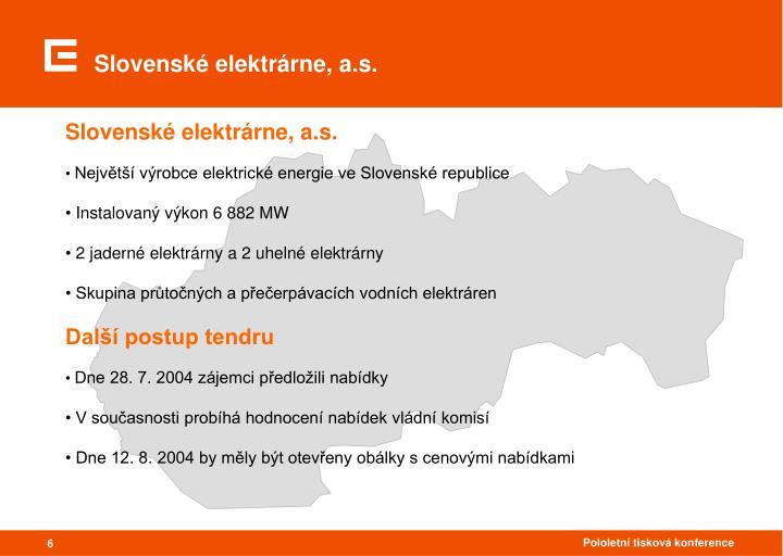 Slovenské elektrárne, a.s.