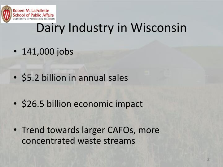 Dairy Industry in Wisconsin