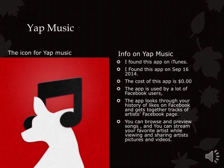 Yap Music