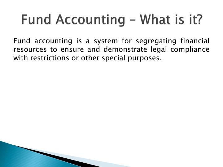 Fund Accounting – What is it?