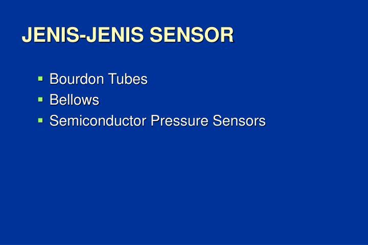JENIS-JENIS SENSOR