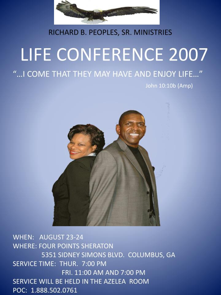 Life conference 2007