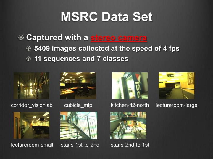 MSRC Data Set