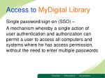 access to mydigital library1