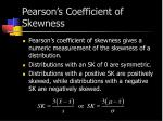 pearson s coefficient of skewness