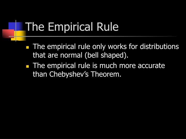 The Empirical Rule