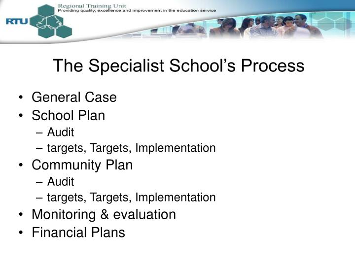 The Specialist School's Process