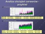analiza obci e serwer w przyk ad