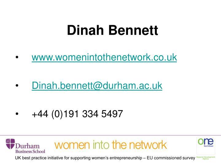 Dinah Bennett