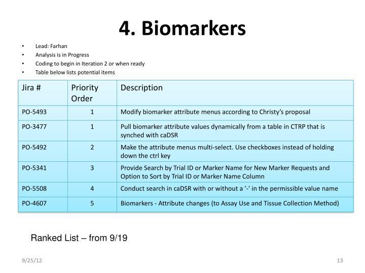 4. Biomarkers