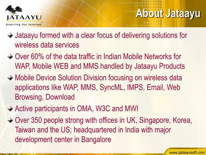 About Jataayu