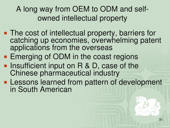 A long way from OEM to ODM and self-owned intellectual property
