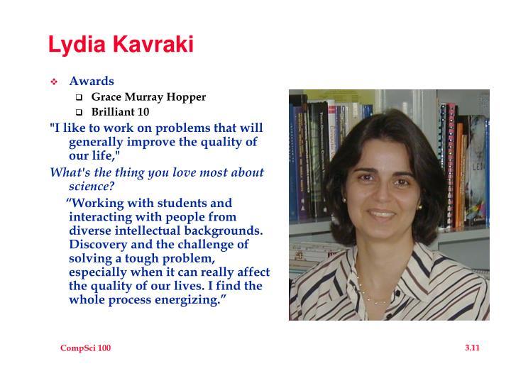 Lydia Kavraki