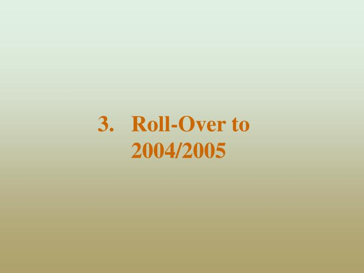 Roll-Over to