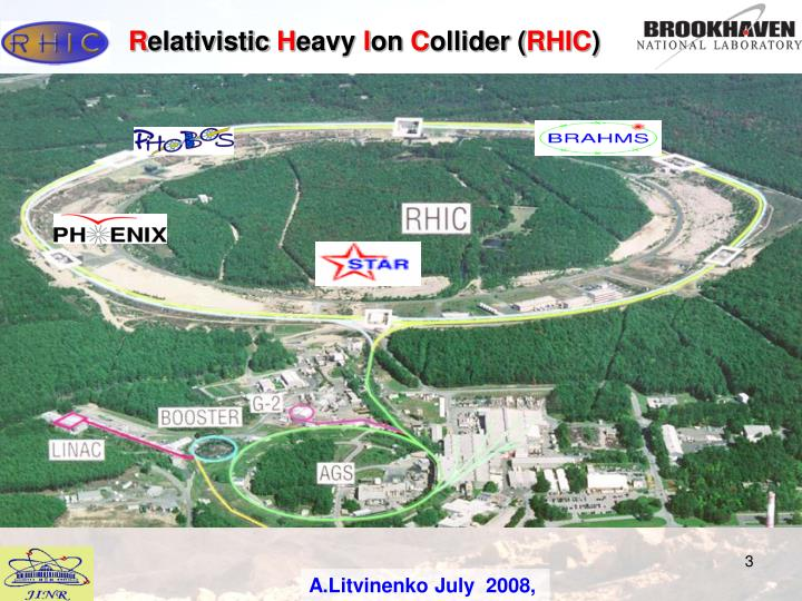Some results obtained at rhic