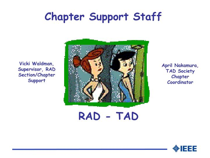 Chapter support staff