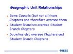 geographic unit relationships1