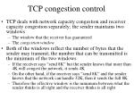 tcp congestion control2