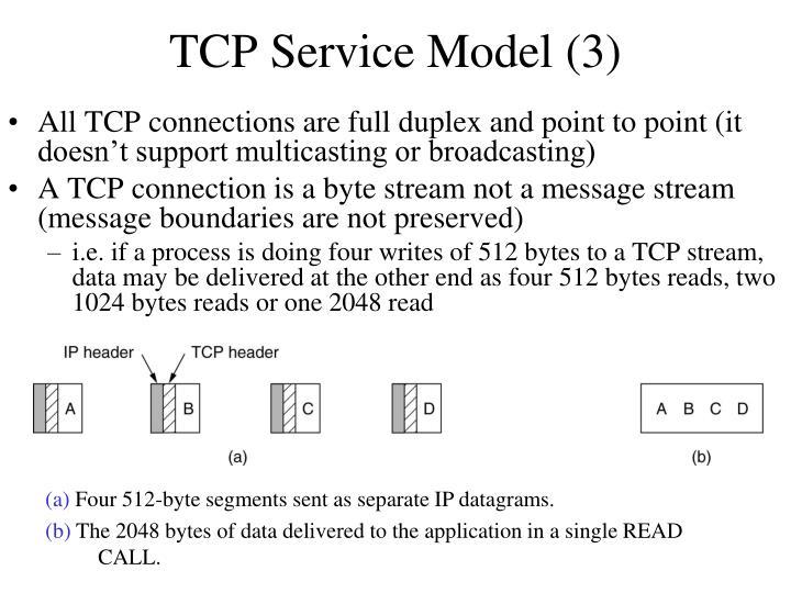 TCP Service Model (3)
