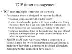 tcp timer management1