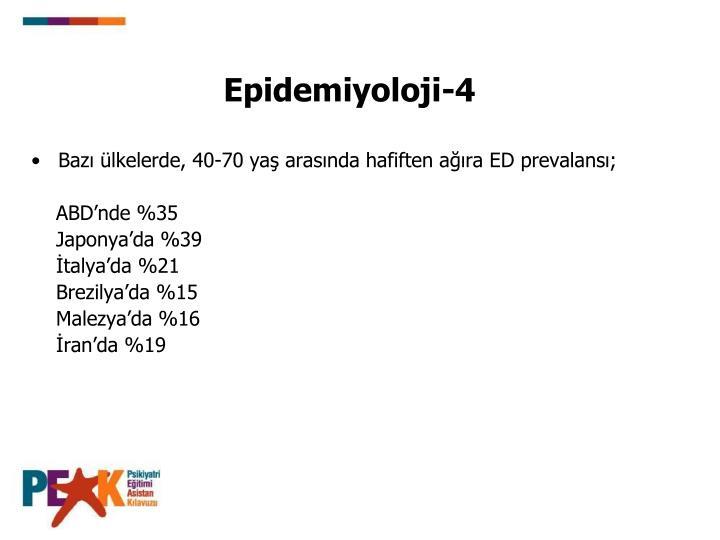 Epidemiyoloji-4