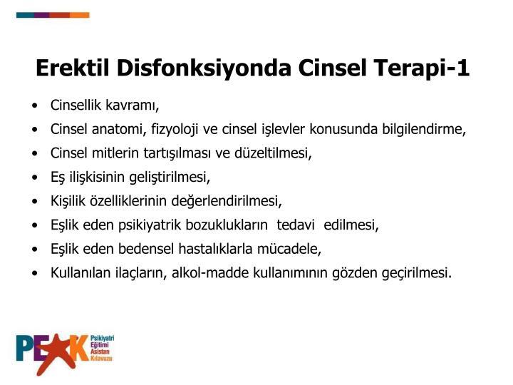 Erektil Disfonksiyonda Cinsel Terapi-1