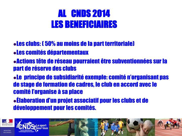 AL   CNDS 2014