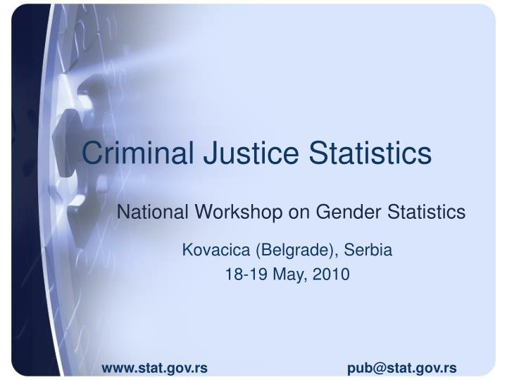 National Workshop on Gender Statistics