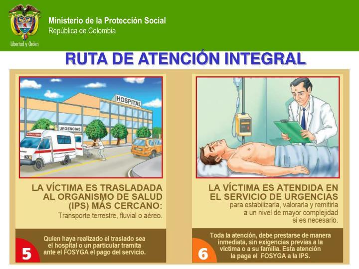 RUTA DE ATENCIÓN INTEGRAL
